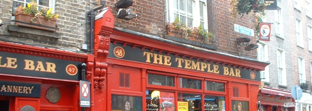 /El Temple Bar en Dublin